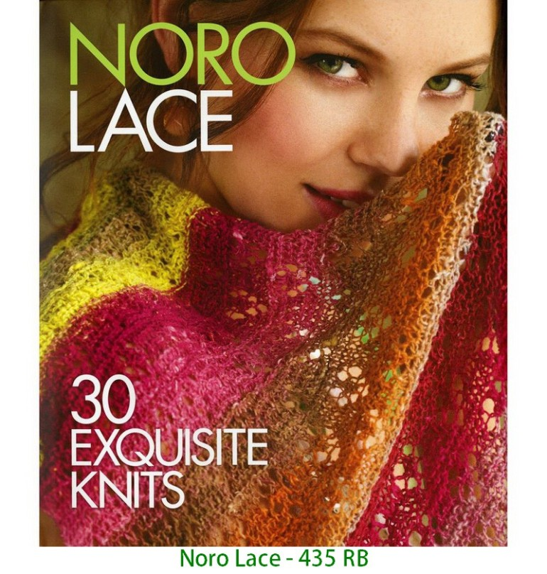 Noro Lace - 435 RB