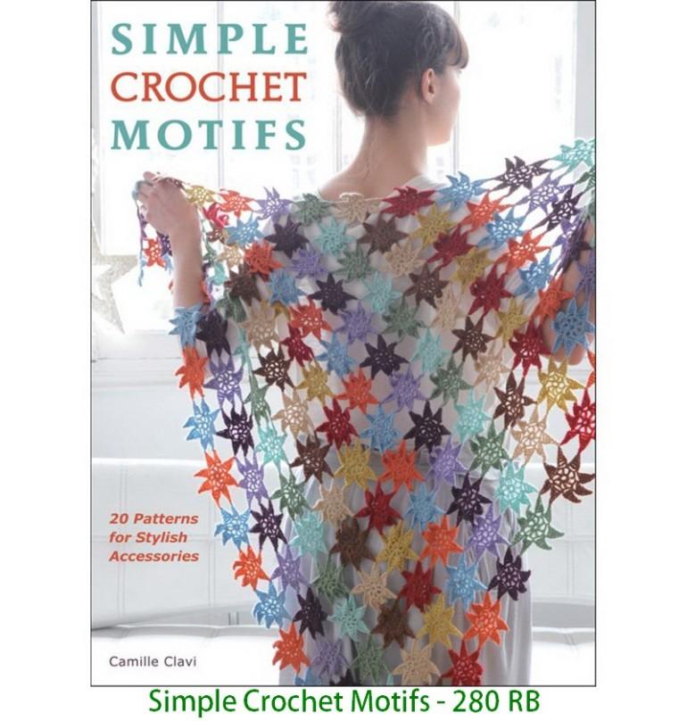 Simple Crochet Motifs - 280 RB