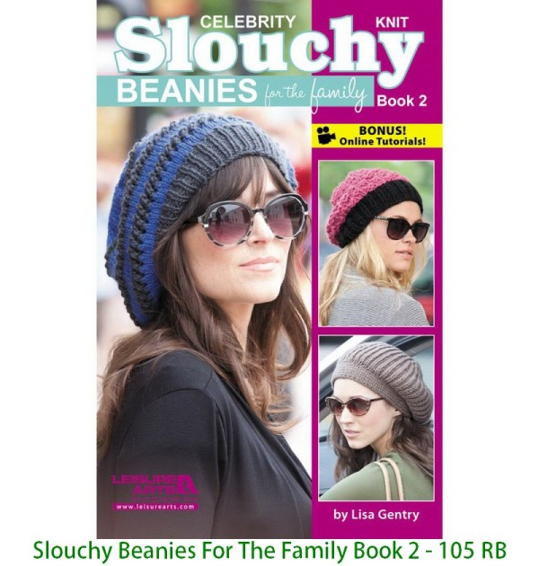 Slouchy Beanies For The Family Book 2 - 105 RB