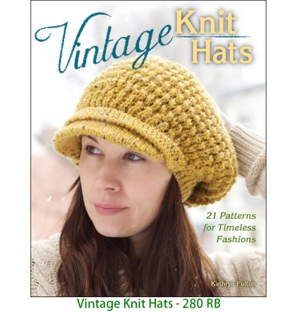 Vintage Knit Hats - 280 RB
