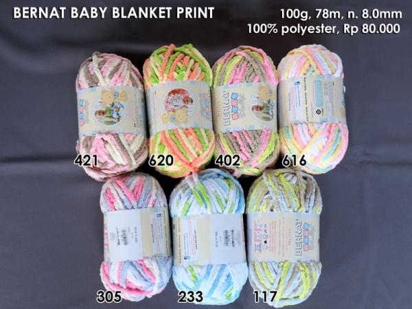 Bernat Baby Blanket Print
