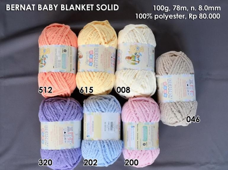Bernat Baby Blanket Solid