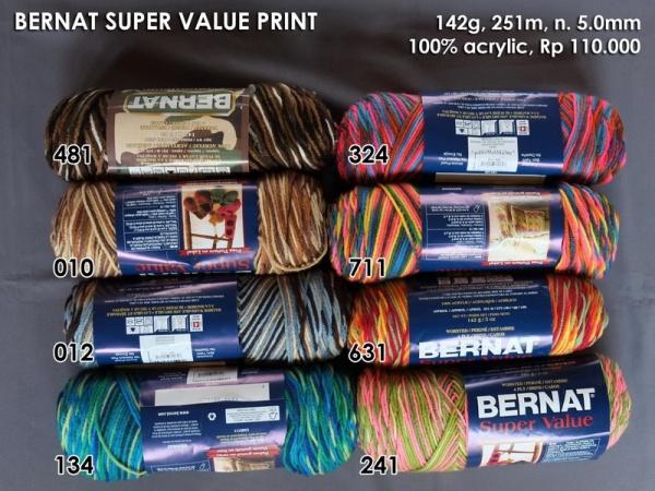 Bernat Super Value Print