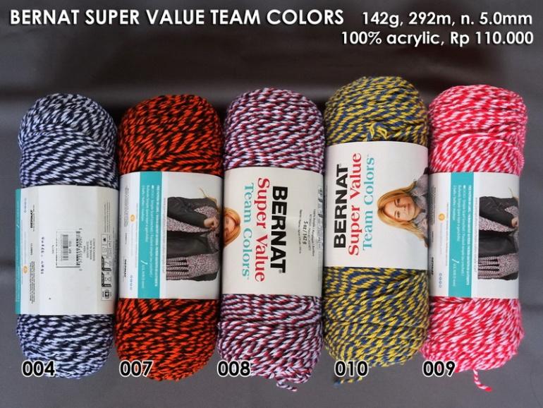 Bernat Super Value Team Colors