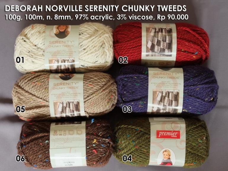 Deborah Norville Serenity Chunky Tweeds
