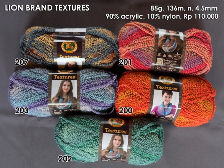 Lion Brand Textures