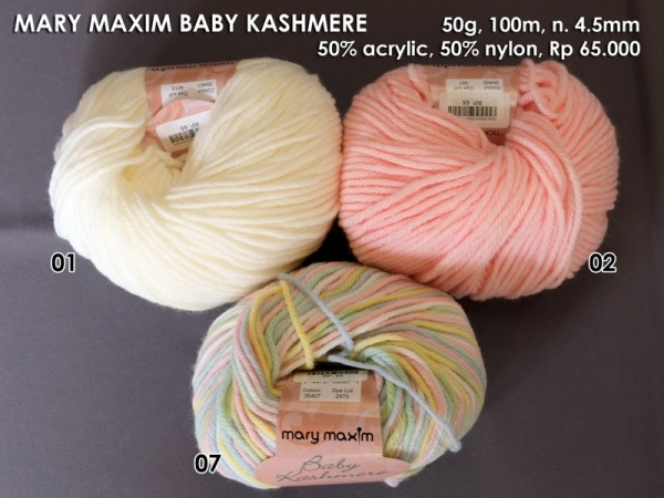 Mary Maxim Baby Kashmere