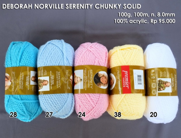 Deborah Norville Serenity Chunky Solid