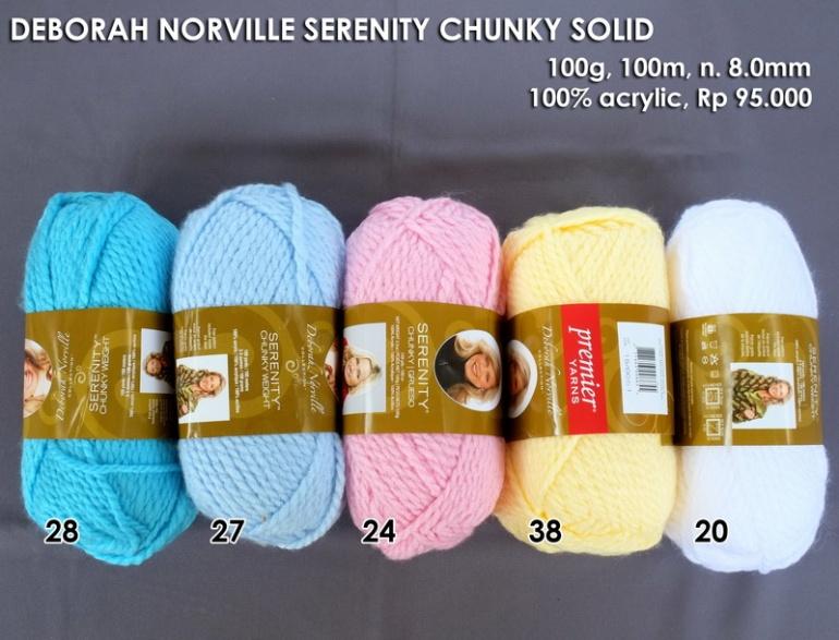 Deborah Norville Serenity Chunky Solid