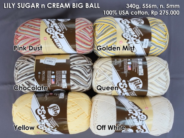 Lily Sugar n Cream Big Ball