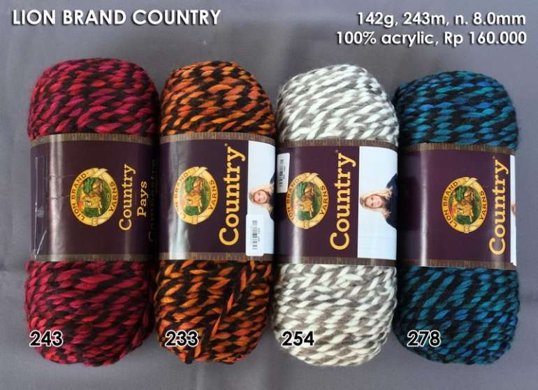 Lion Brand Country
