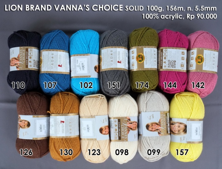 Lion Brand Vannas Choice Solid