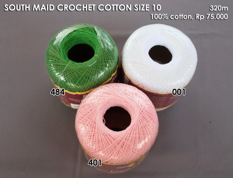 South Maid Crochet Cotton Size 10