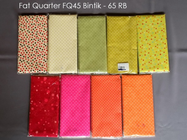 Fat Quarter FQ45 Bintik - 65 RB