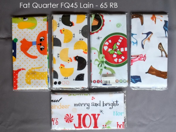 Fat Quarter FQ45 Lain - 65 RB
