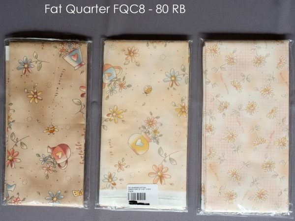 Fat Quarter FQC8 - 80 RB