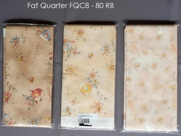 Fat Quarter FQC8 - 80 RB