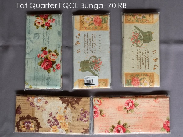 Fat Quarter FQCL Bunga- 70 RB