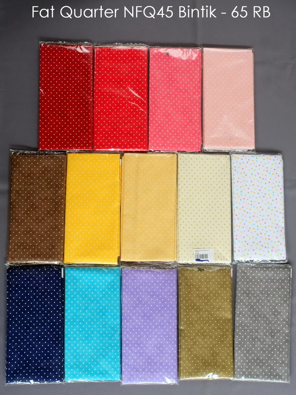 Fat Quarter NFQ45 Bintik - 65 RB