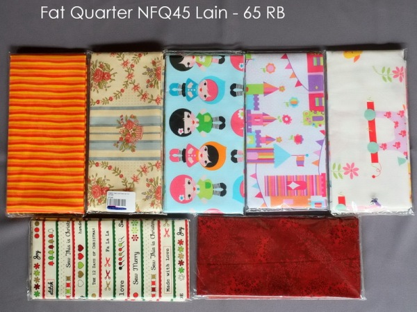 Fat Quarter NFQ45 Lain - 65 RB