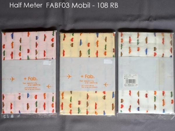 Half Meter FABF03 Mobil - 108 RB