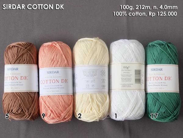 Sirdar Cotton DK
