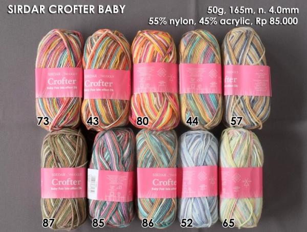Sirdar Crofter Baby