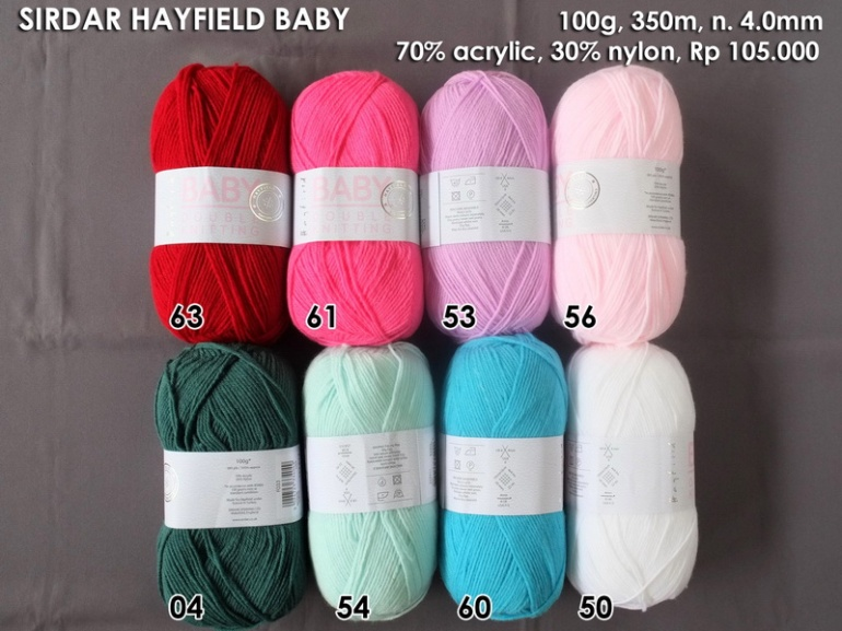 Sirdar Hayfield Baby