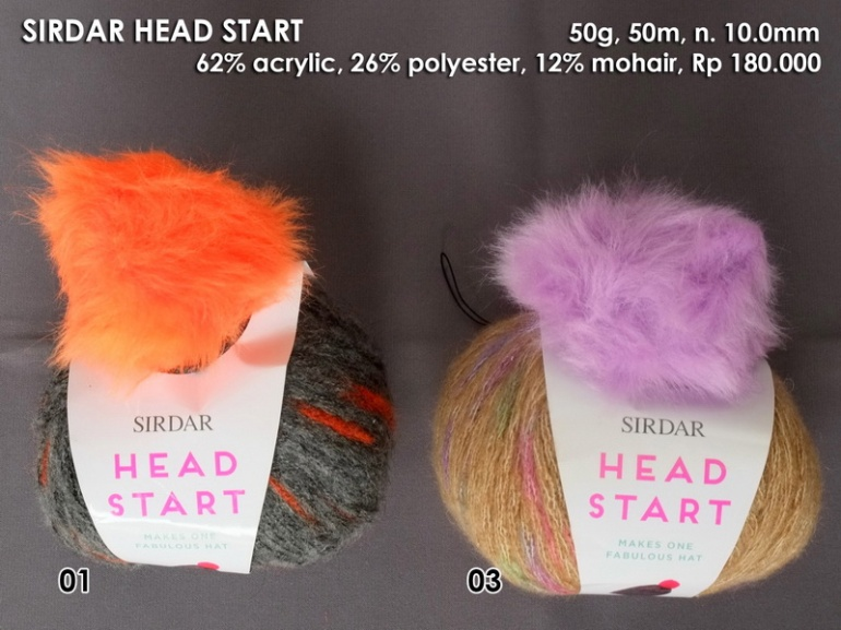 Sirdar Head Start