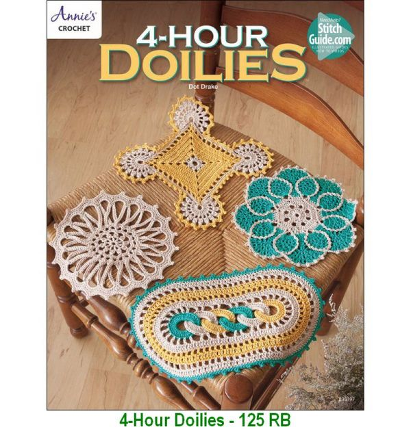 4-Hour Doilies - 125 RB
