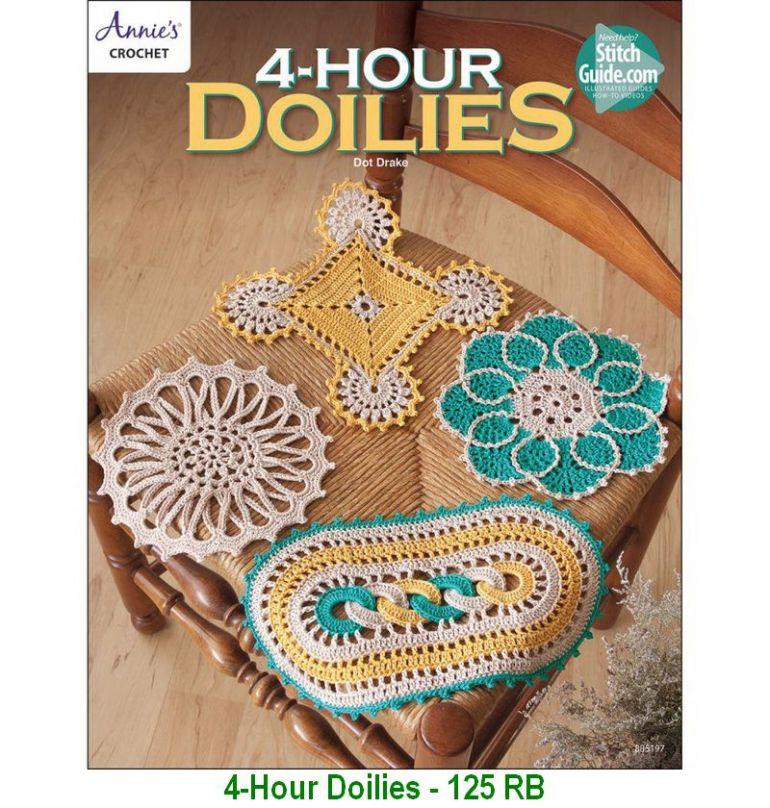 4-Hour Doilies - 125 RB