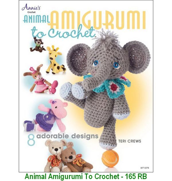 Animal Amigurumi To Crochet - 165 RB