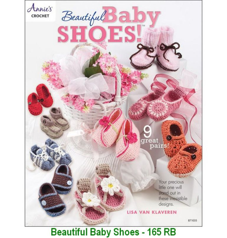 Beautiful Baby Shoes - 165 RB