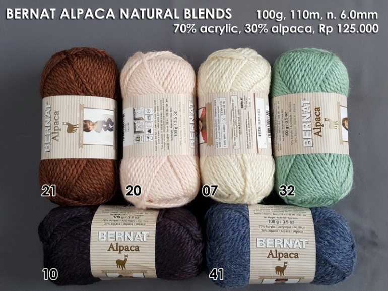 Bernat Alpaca Natural Blends