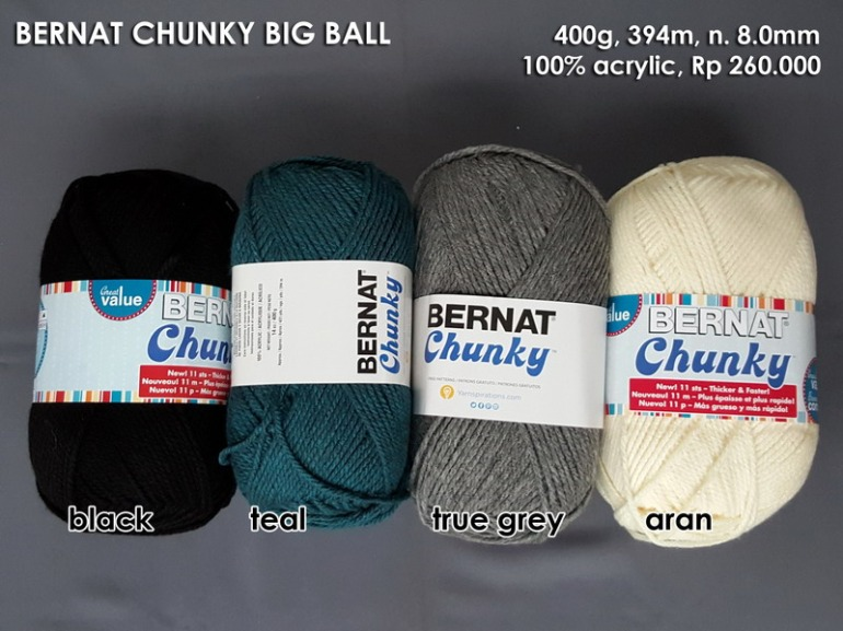 Bernat Chunky Big Ball