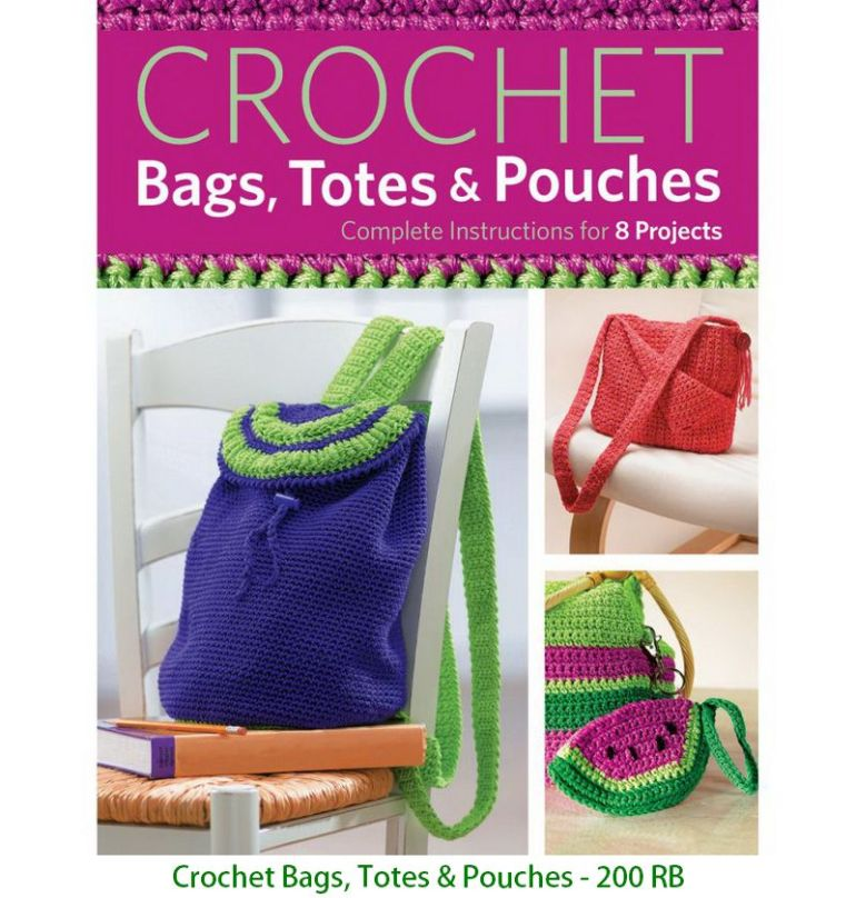 Crochet Bags, Totes & Pouches - 200 RB