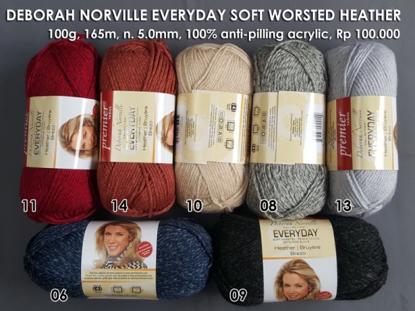 Deborah Norville Everyday Soft Worsted Heather