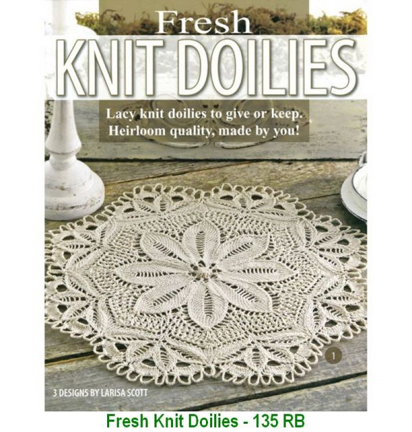 Fresh Knit Doilies - 135 RB