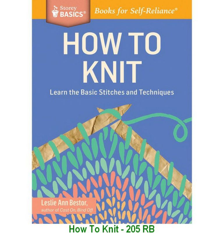 How To Knit - 205 RB