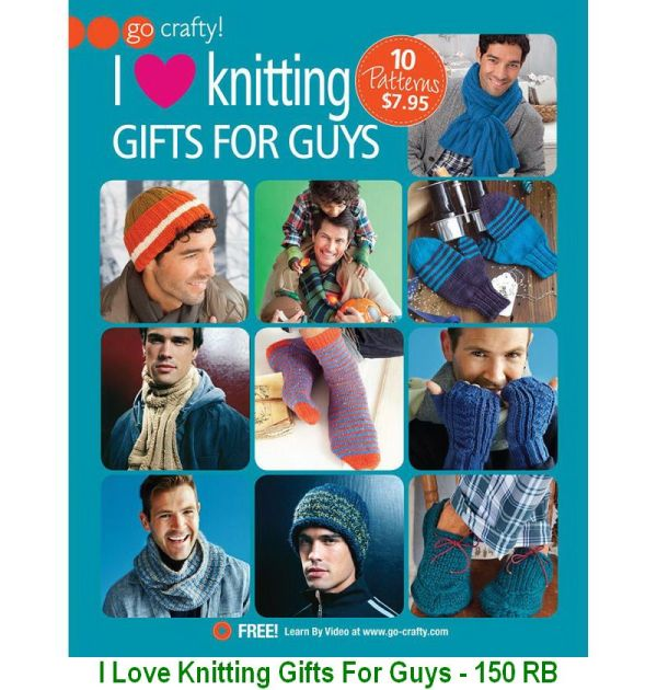 I Love Knitting Gifts For Guys - 150 RB