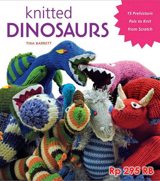 Knitted Dinosaurs - 295 RB