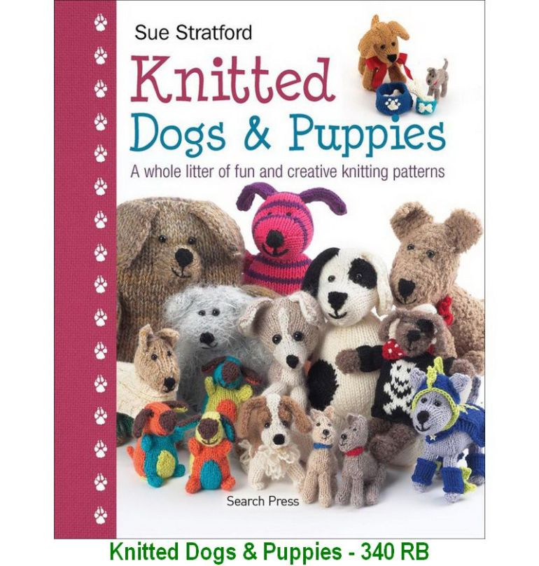 Knitted Dogs & Puppies - 340 RB