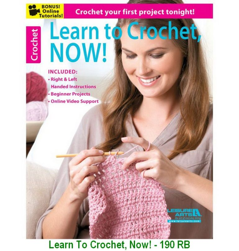 Learn To Crochet, Now! - 190 RB