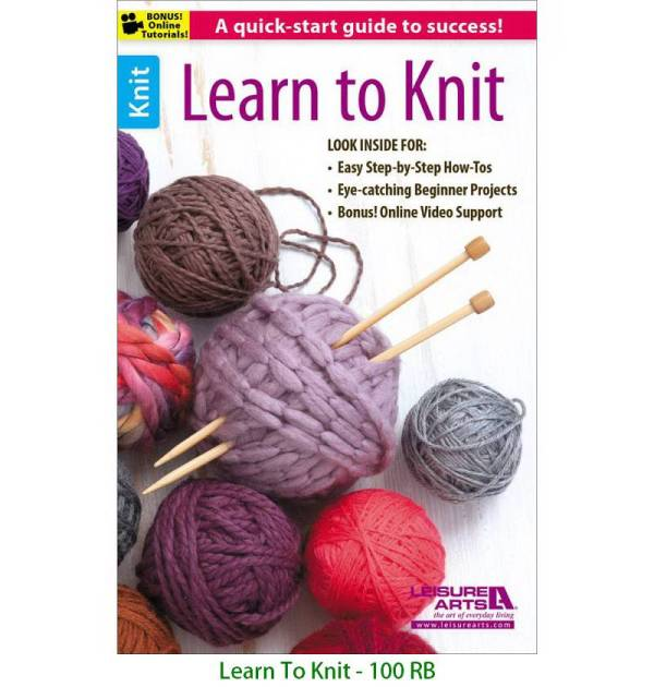 Learn To Knit - 100 RB