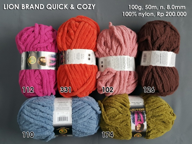 Lion Brand Quick & Cozy