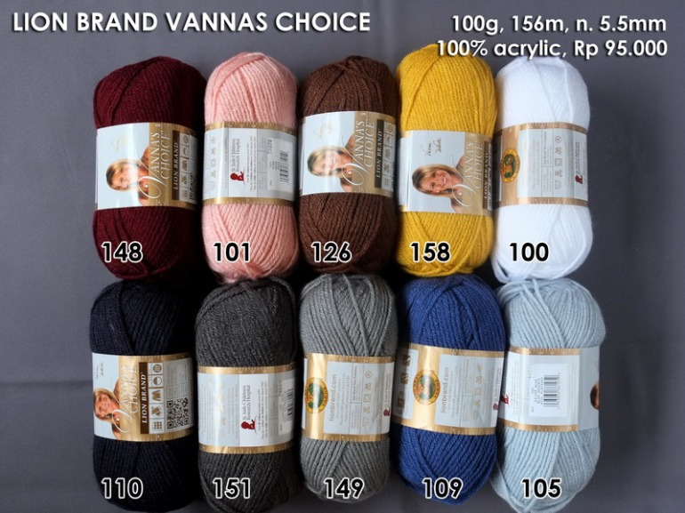 Lion Brand Vannas Choice