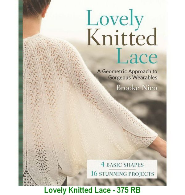 Lovely Knitted Lace - 375 RB