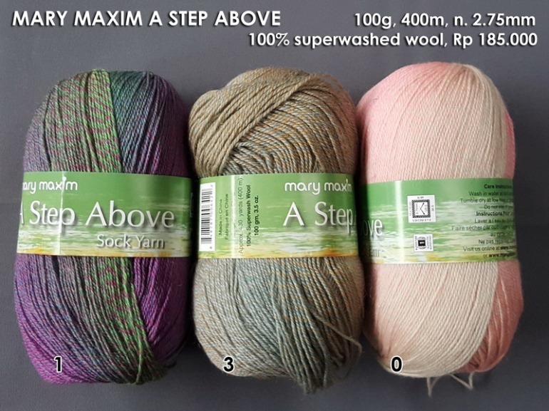 Mary Maxim A Step Above