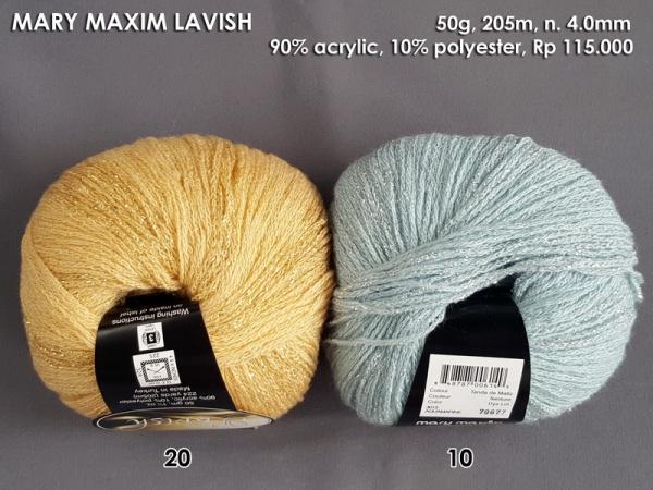 Mary Maxim Lavish