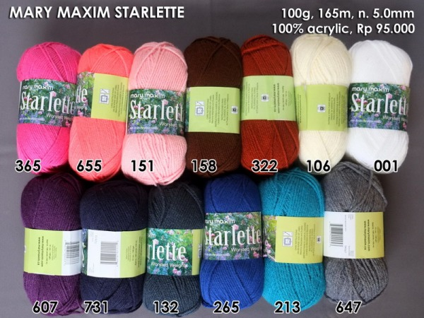Mary Maxim Starlette
